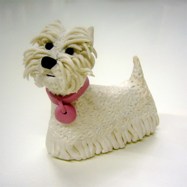 Perro de plastilina - Imagui