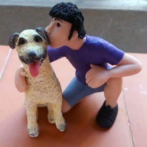 Chico con Perro 2